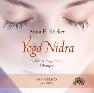 Yoga Nidra Sammelbox mit geführten Übungen